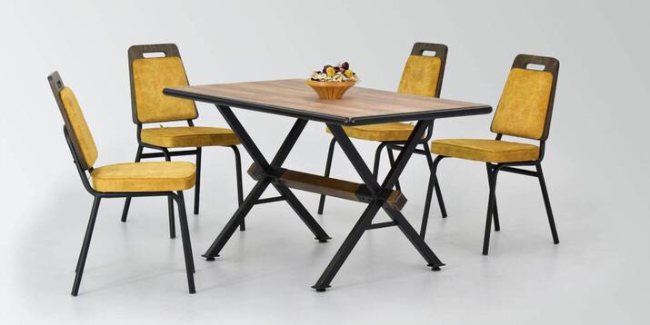 AYHANPARK KODU -10 - Ceyhan Sandalye Aksa Mutfak Masası Takımı