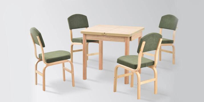 AYHANPARK KODU -10 - Fırat 08080 MDF Masa Ege Sandalye Mutfak Masası Takımı