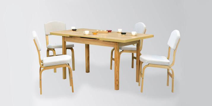 AYHANPARK KODU -10 - Fırat 80122 MDF Masa Ege Sandalye Mutfak Masası Takımı