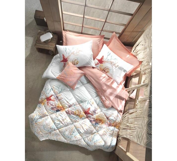 AYHANPARK KODU -21 - Maritime Tek Kişilik Uyku Seti Lara Pembe