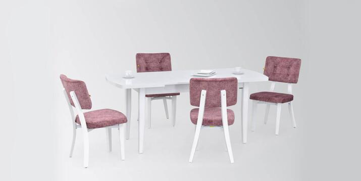AYHANPARK KODU -10 - Mir 02 Sandalye Anka MDF Mutfak Masası Takımı