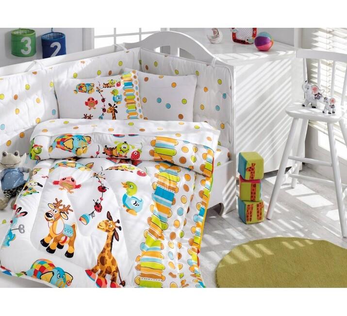 AYHANPARK KODU -21 - Oyun Bahçesi Turkuaz Bebek Uyku Seti